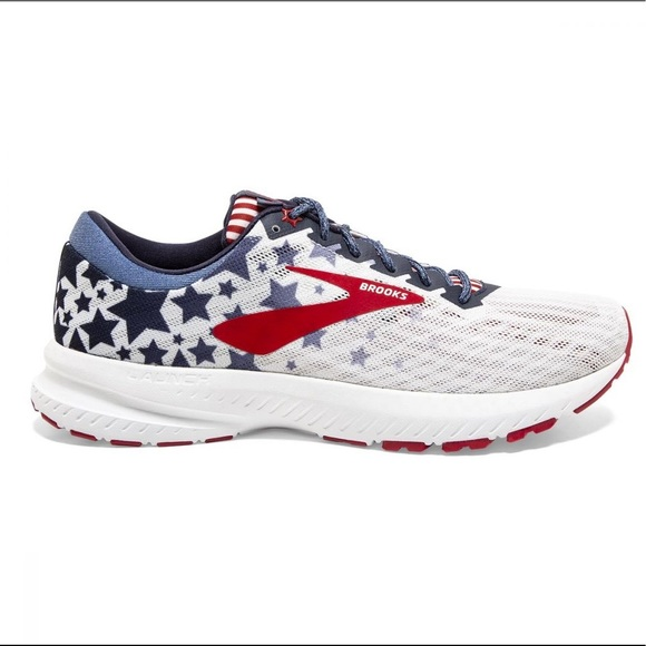 Brooks Launch 6 Stars And Stripes
